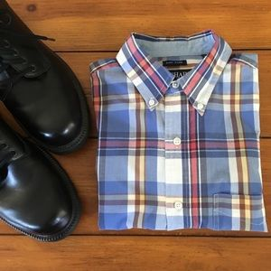 🆕 Chaps | Short Sleeve Plaid Shirt